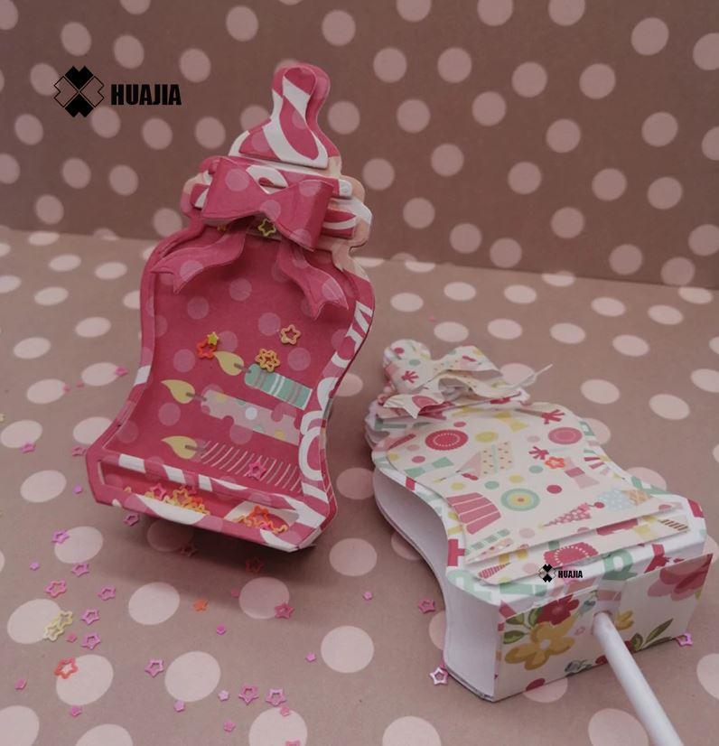Nicole - Baby Bottle Shaker Lollipop Holder Metal Cutting Dies
