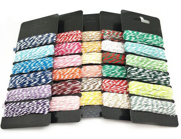 Twine pakker 5 farger