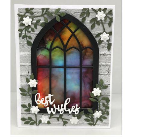 Nicole - 2 pcs Church Windows Metal Cutting Dies