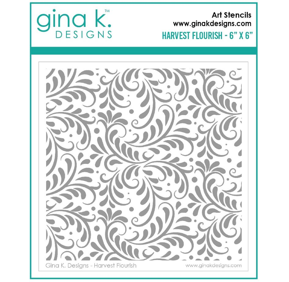 Gina k. DESIGNS - Art Stencil (flere valg)