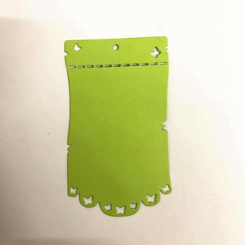 Nicole - Butterfly tag Holder Metal Cutting Dies