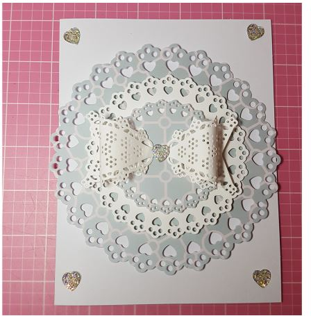 Nicole - Heart Shaped 3 Frames Metal Cutting Die