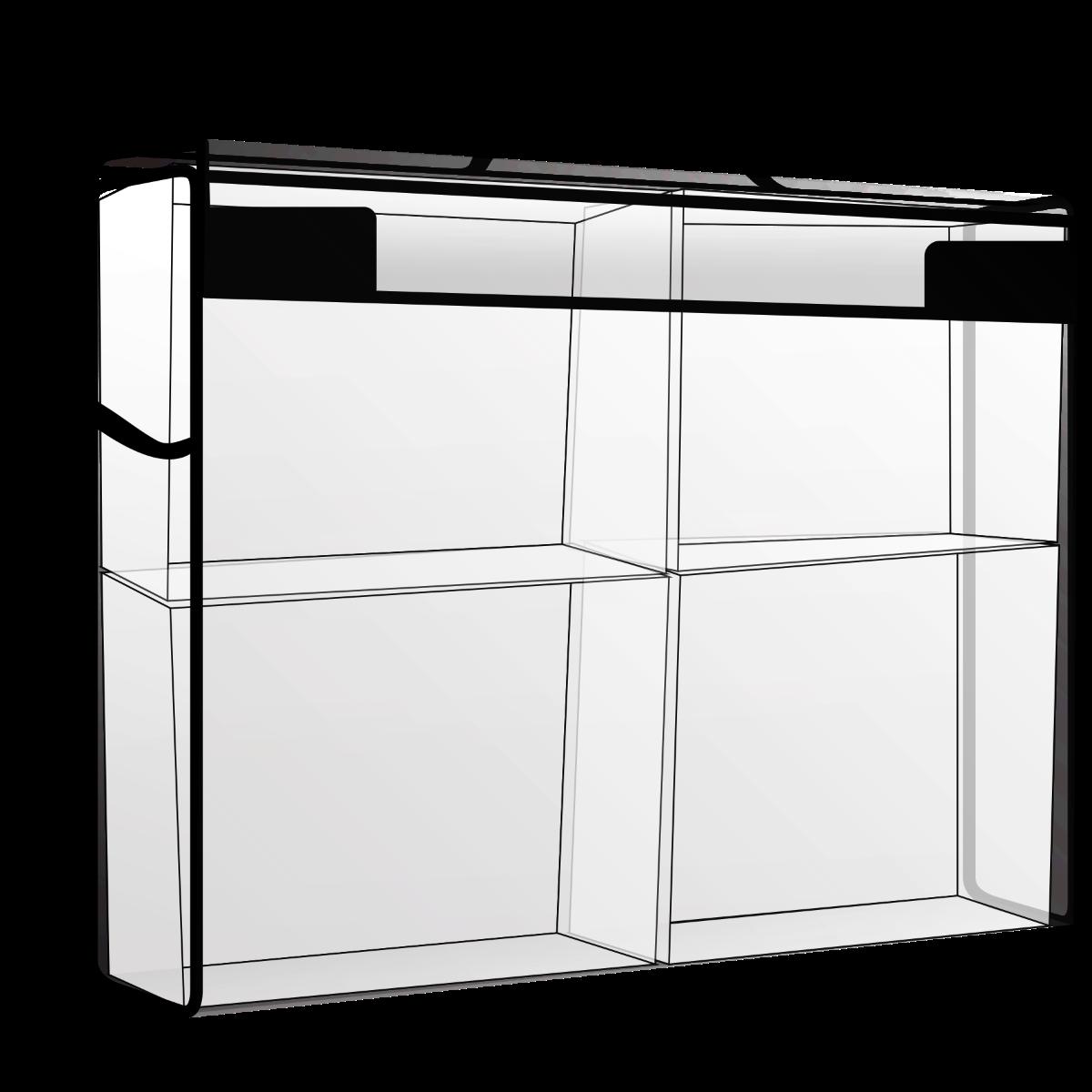 "Totally Tiffany - Storage & Supply Case 2"" (4 Varianter)"