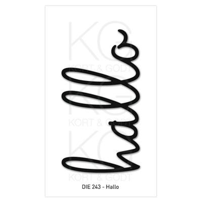 Kort & Godt - Die 243 - Hallo