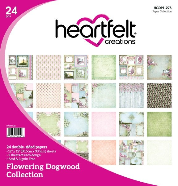 Heartfelt Creations - Flowering Dogwood Paper Collection