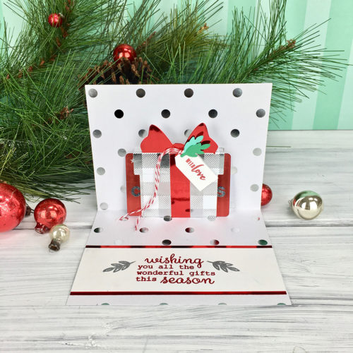 Hero Arts - Paper Layering Present Gift Card Pop-Up Fancy Die (DI706)