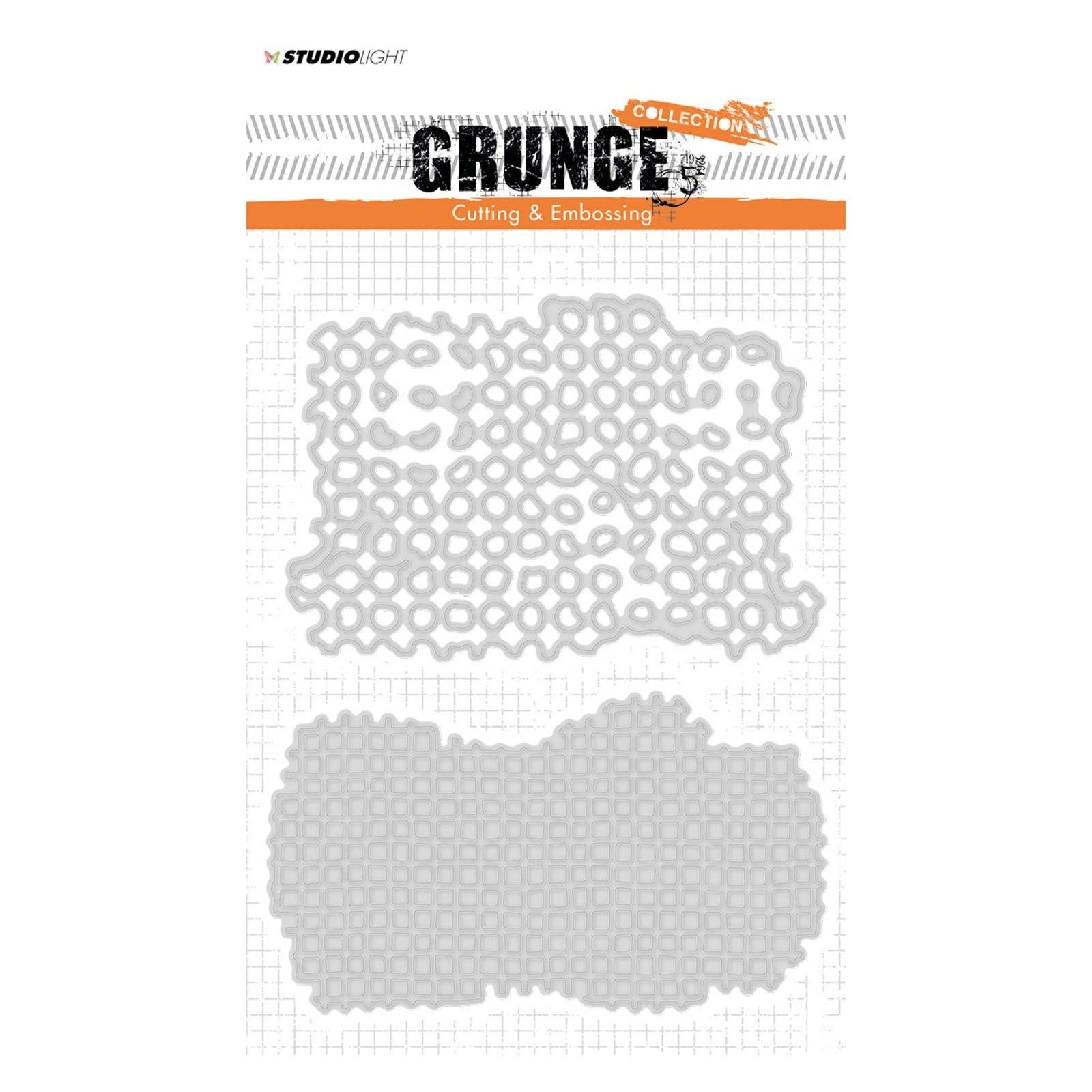Studio Light - Grunge cutting & embossing die no. 150