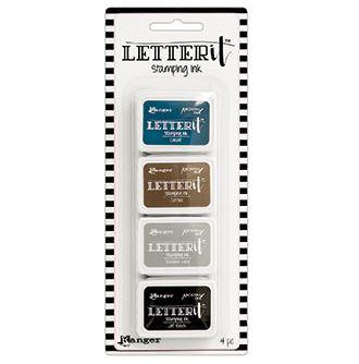 Ranger - Letter It Ink Pad Set (forskjellige sett)