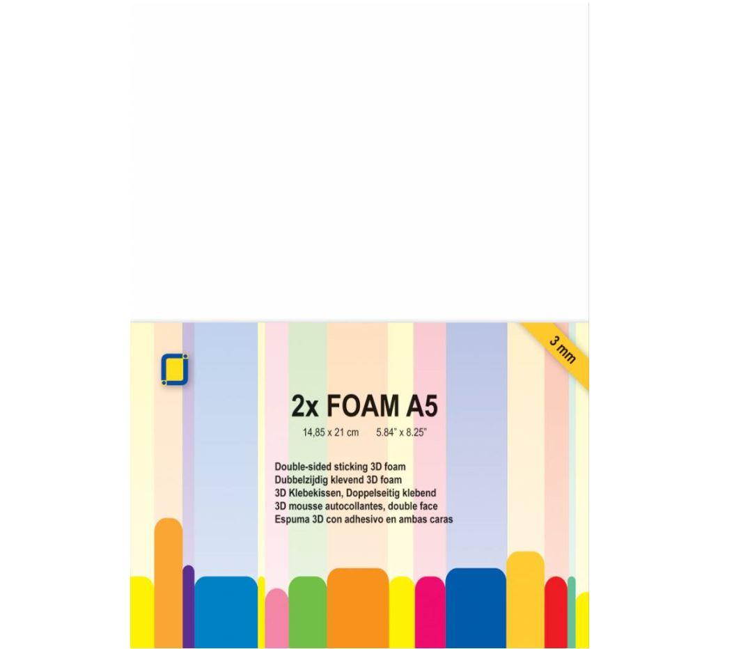 JEJE Produkt - 3D Foam A5 3mm 2 Sheets (3.3243)