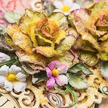 Heartfelt Creations - Classic Rose Die og Cling Stamp Set