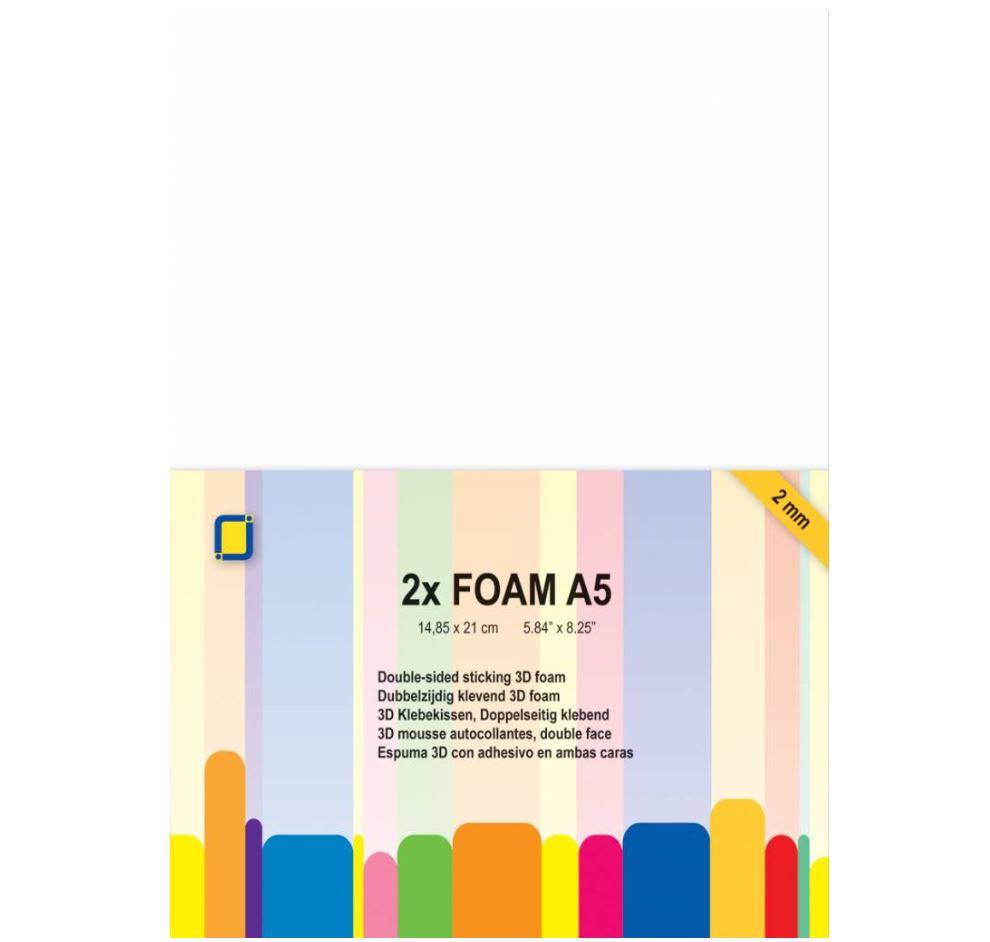 JEJE Produkt - 3D Foam A5 2mm 2 Sheets (3.3242)