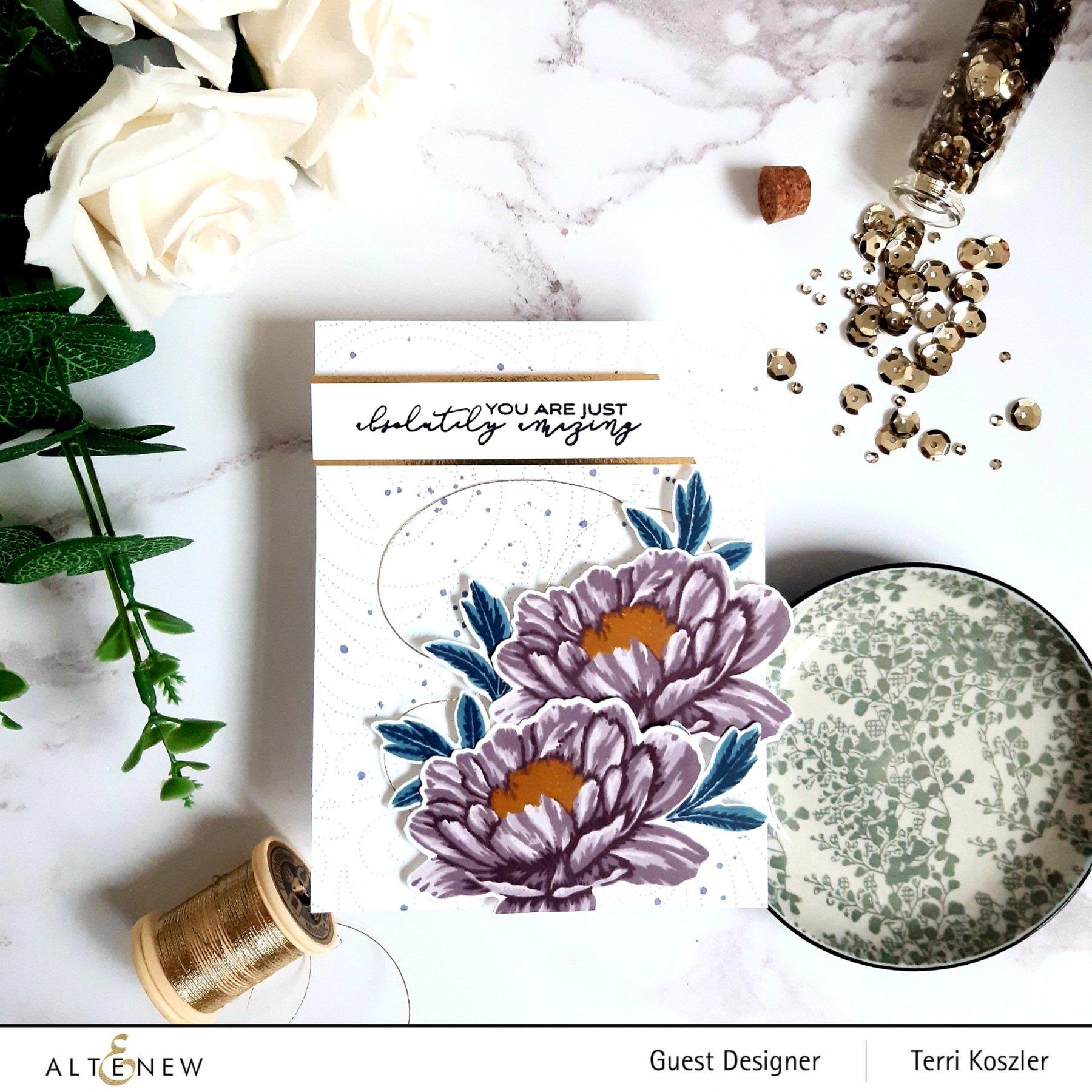 Altenew - Build-A-Flower: Parrot Tulips Layering Stamp & Die Set