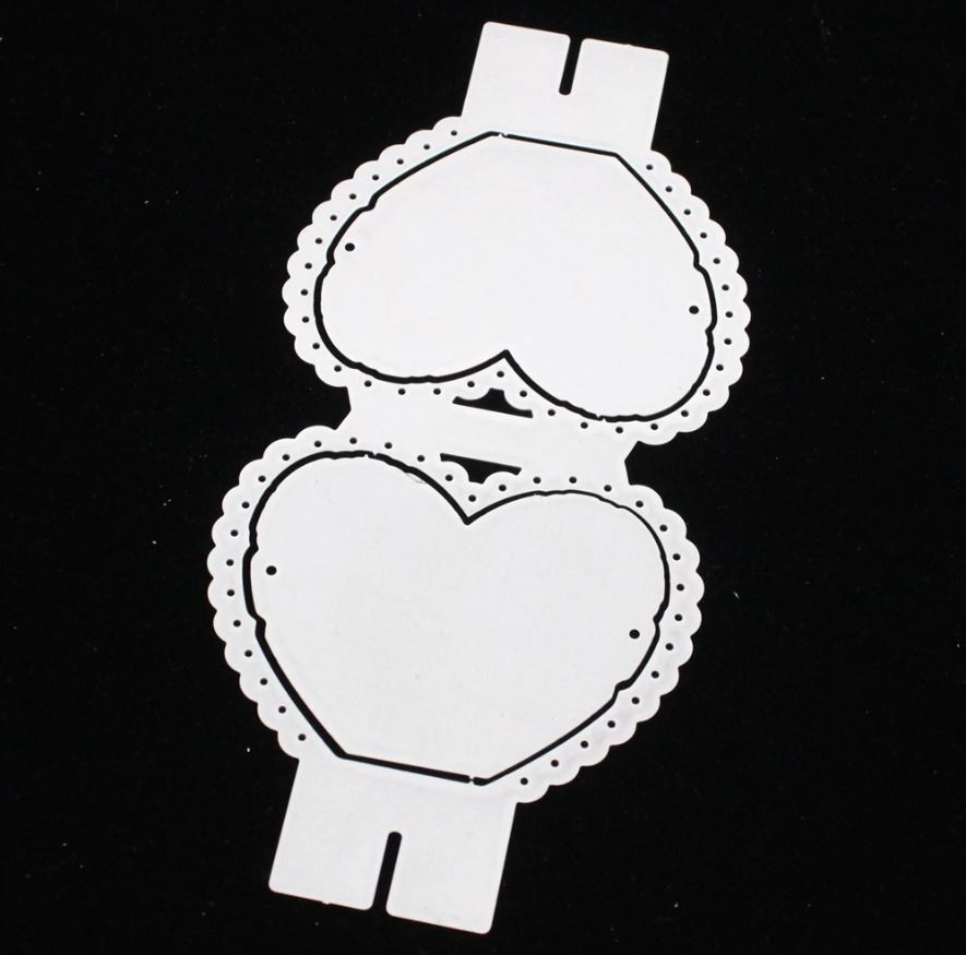 Nicole - Heart Lollipop Metal Cutting Dies