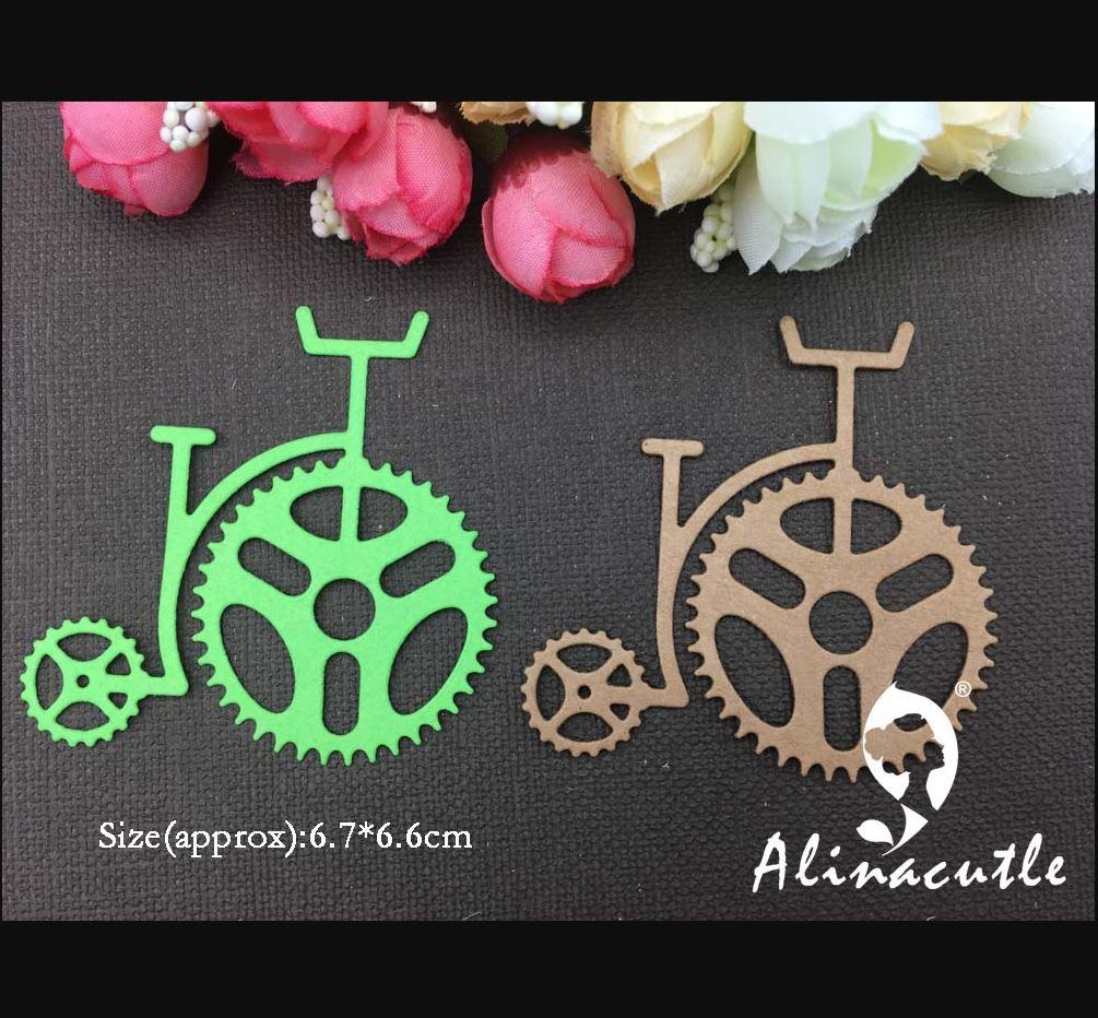 AlinaCraft - Metal Cutting Dies steampunk gear wheel bicycle