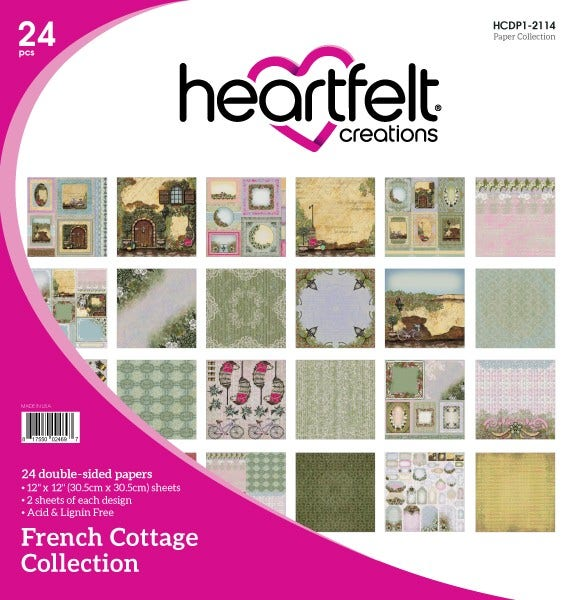 Heartfelt Creations - French Cottage