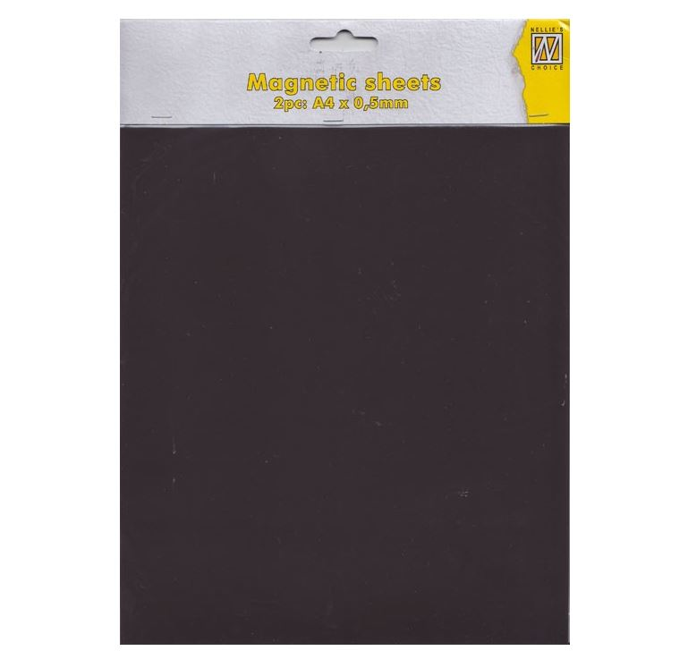 Nellie's Choice - 2 pcs A4 Magnetic sheet (3 varianter)