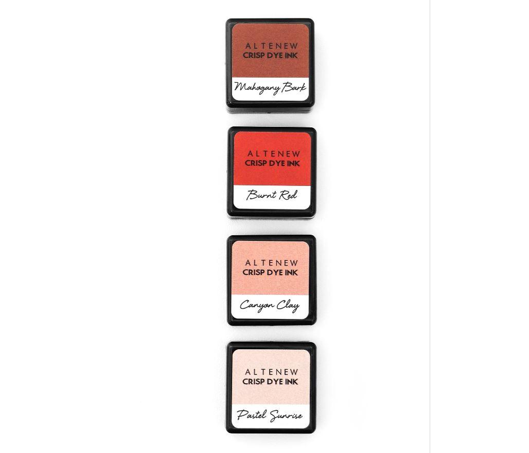 Altenew - Quiet Reflections Crisp Dye Ink Mini Cube 4 (flere valg)