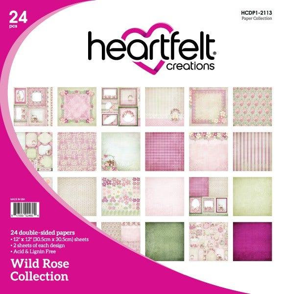 Heartfelt Creations - Wild Rose