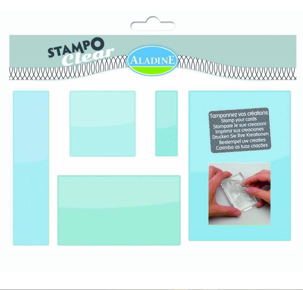 Aladine - Acrylic Stamp Block Set