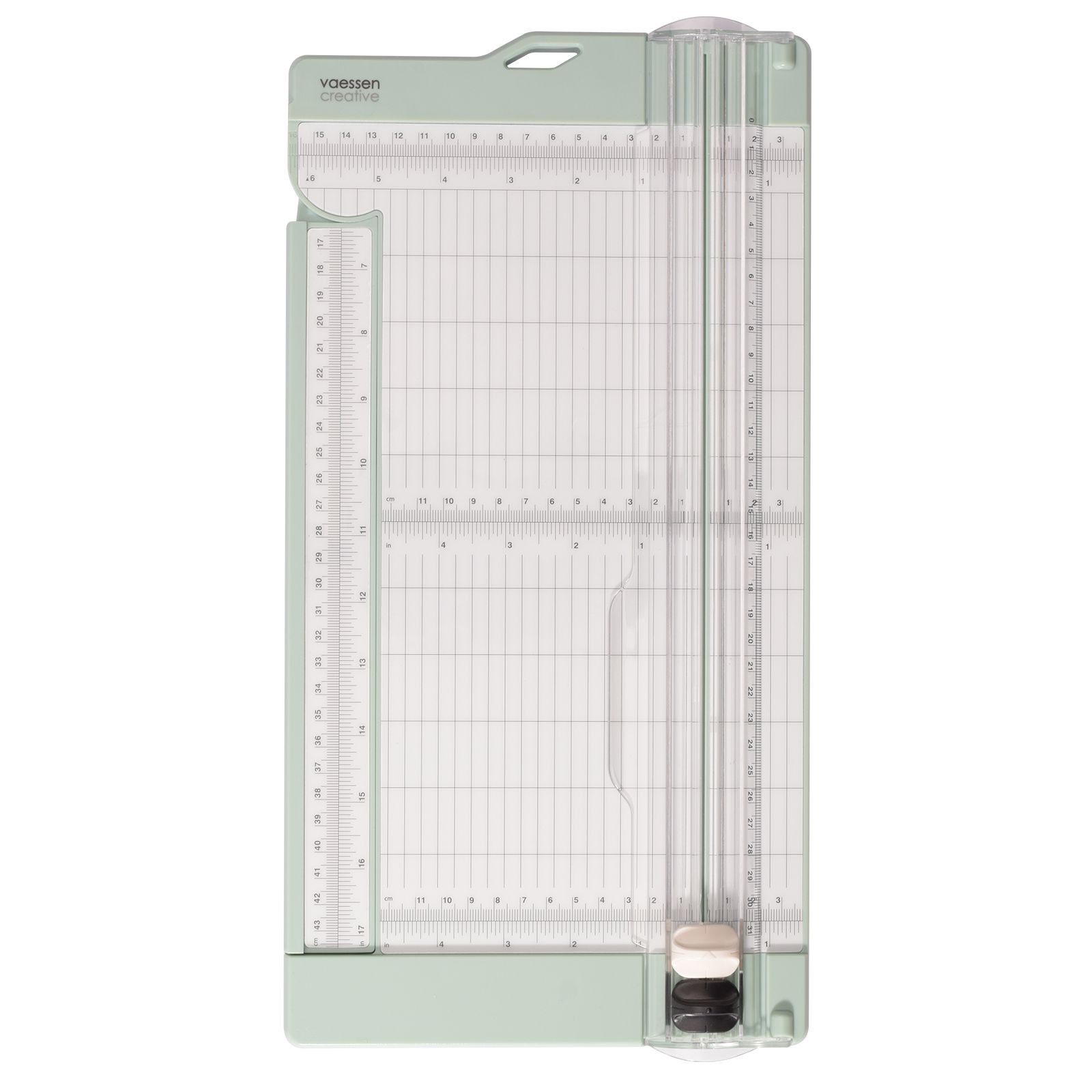 Vaessen Creative - Paper cutter with scoring tool 15x30.5cm mint