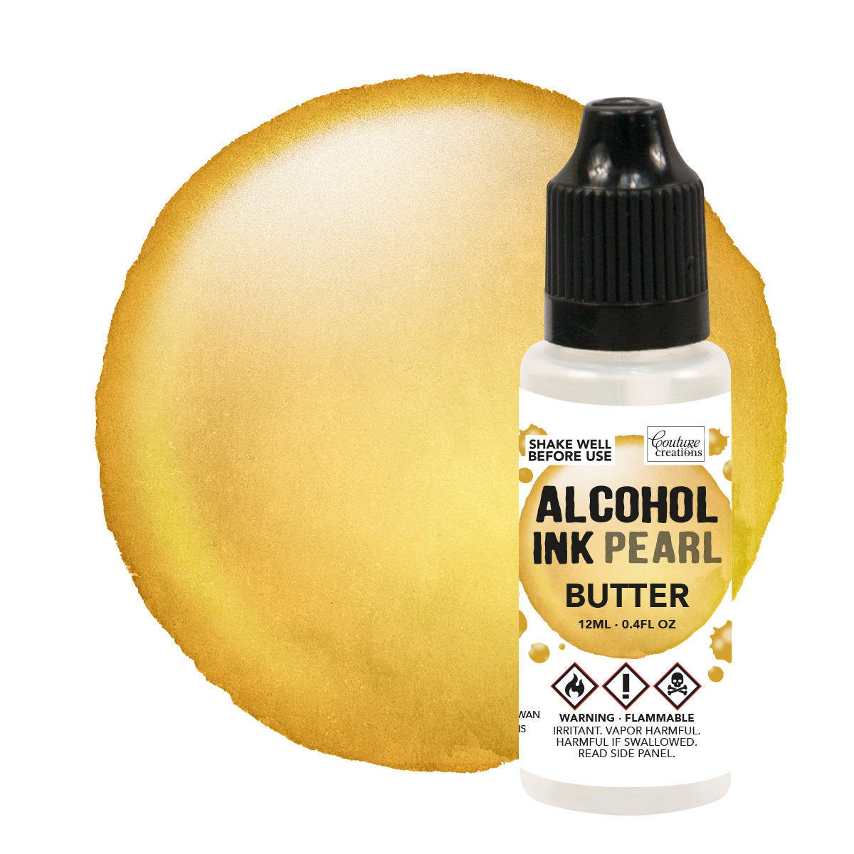 Couture Creations - Alcohol Ink Pearl 12ml (flere varianter)