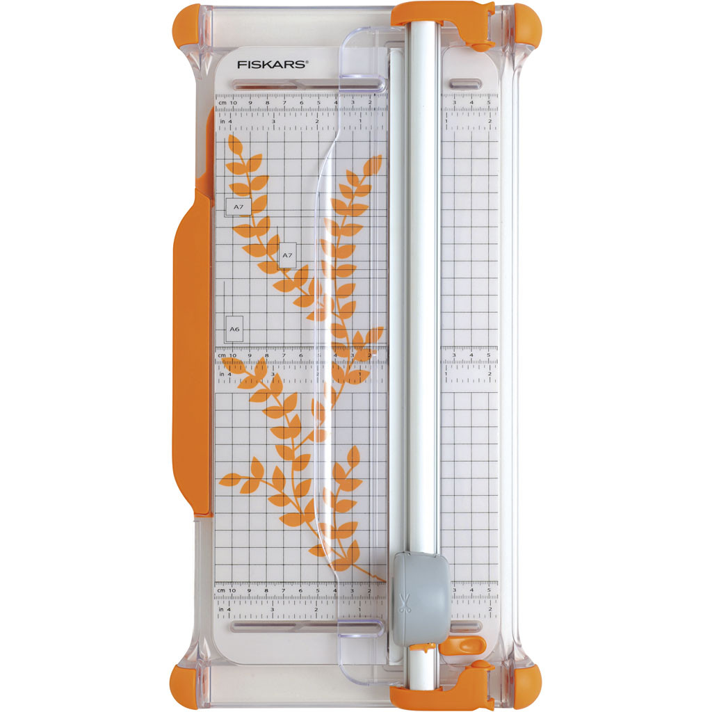 Fiskars Portable Ø28mm Rotary Paper Trimmer 30 cm - A4(9908)