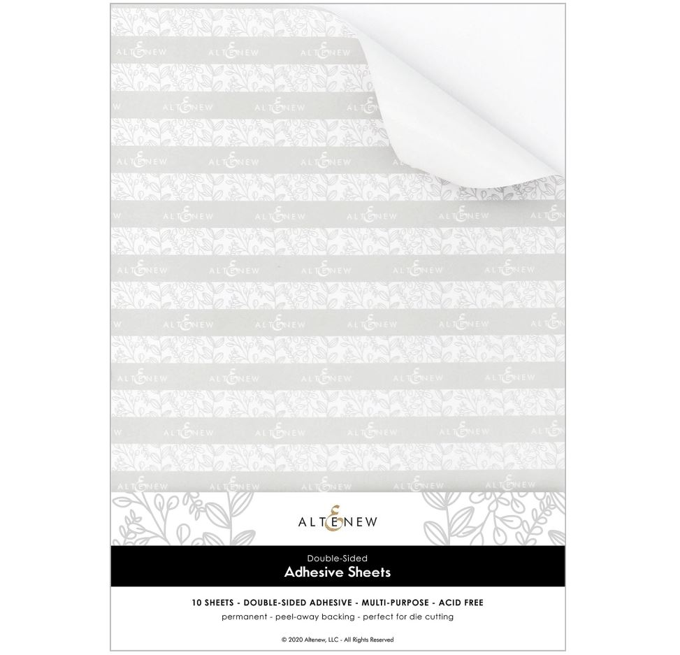 Altenew - Double-sided Adhesives Sheets (10 sheet/set)