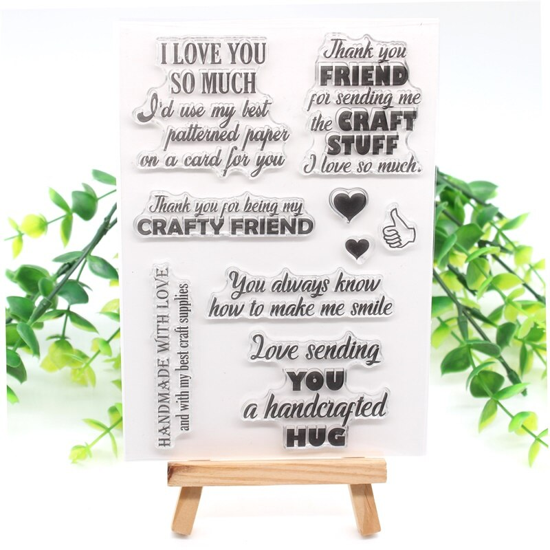 Nicole - Love Sentiments Clear stamp