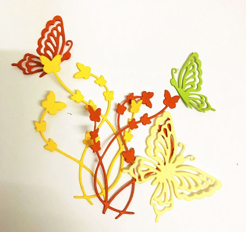 Nicole - Butterfly grass Metal Cutting Dies