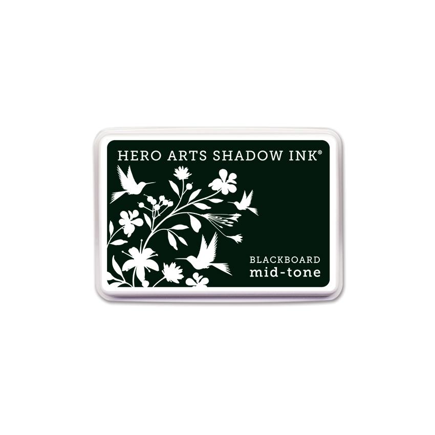 Hero Arts - Shadow Ink - Blacboard Mid-Tone (AF272)