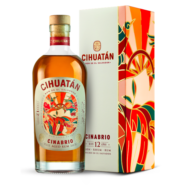 Cihuatán Cinabrio 12 Years Old Rum 40%