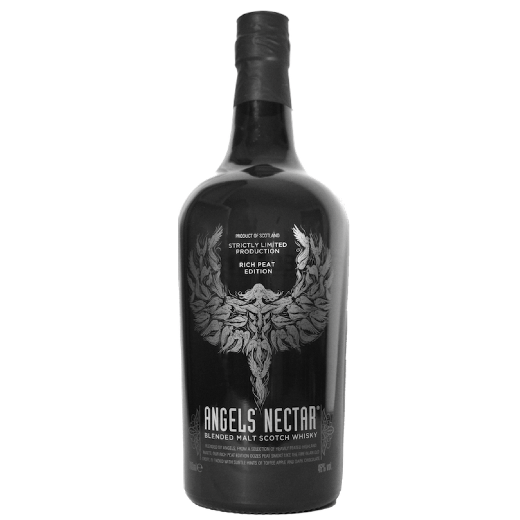 Angels' Nectar Blended Malt Scotch Whisky Rich Peat Edition