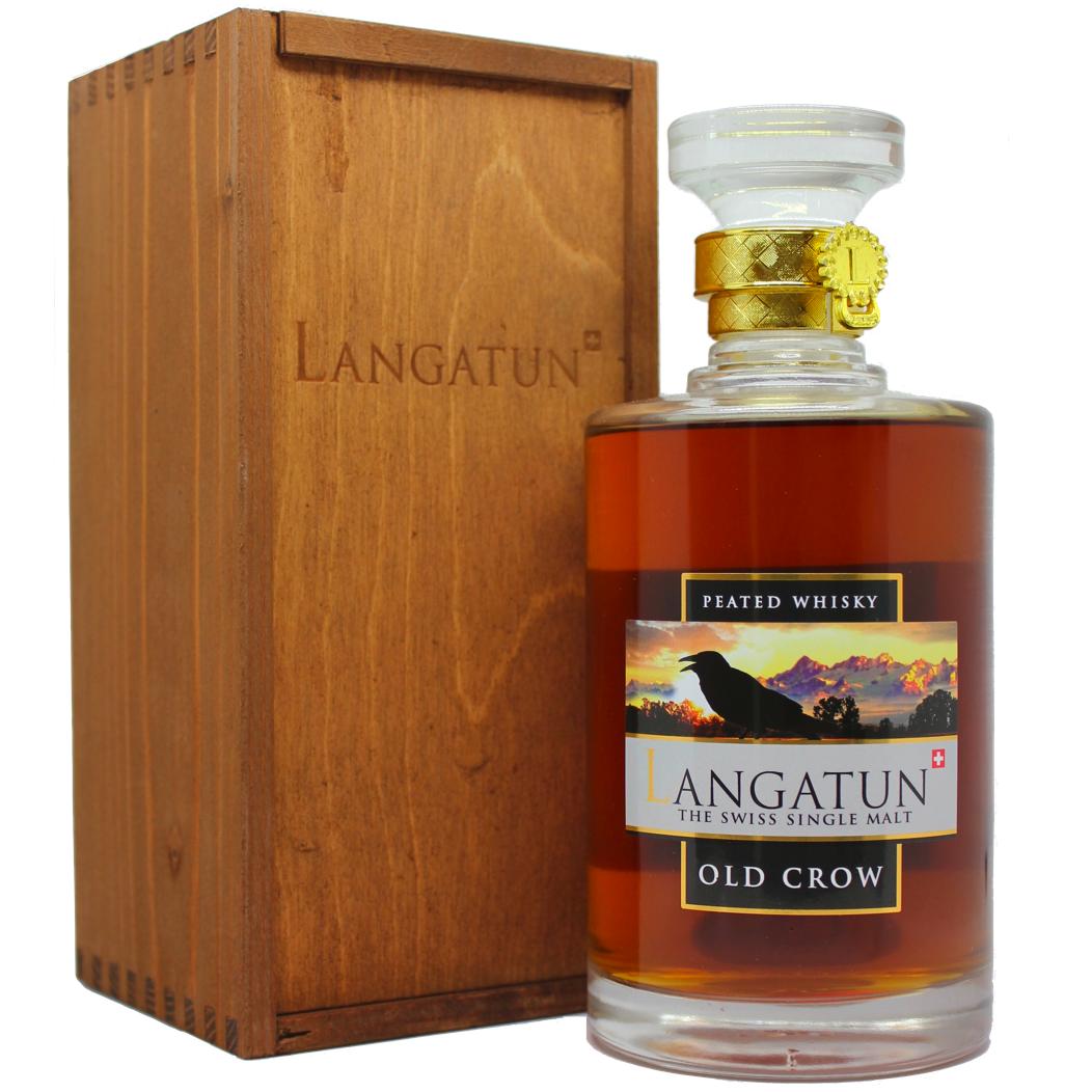 Langatun Old Crow Swiss Single Malt Whisky 46%