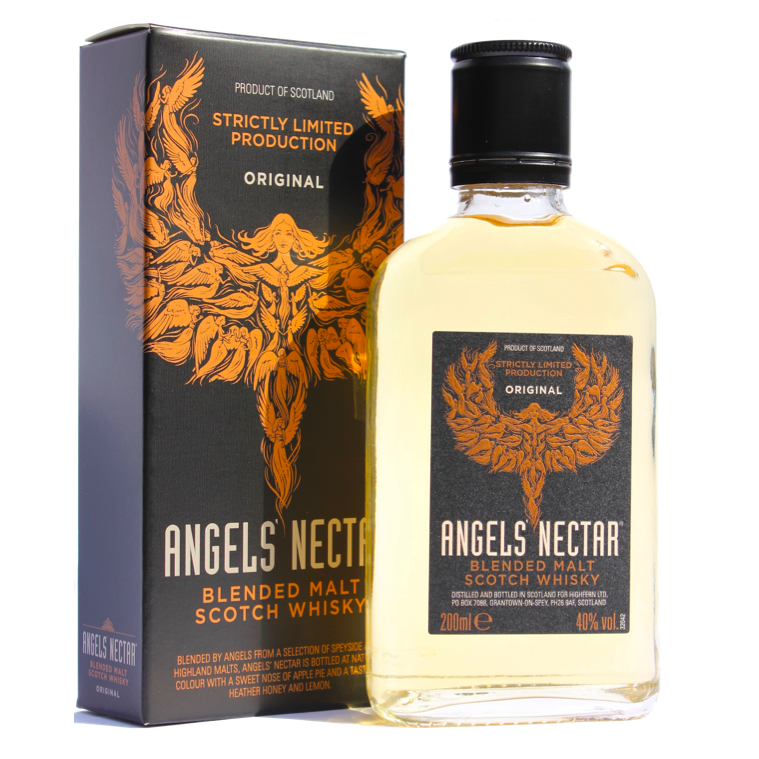 Angels' Nectar Blended Malt Scotch Whisky Original 200ml