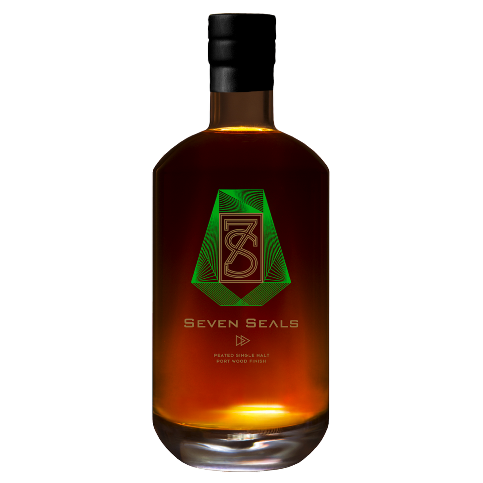 Seven Seals Peated Port Wood Finish Whisky 46%