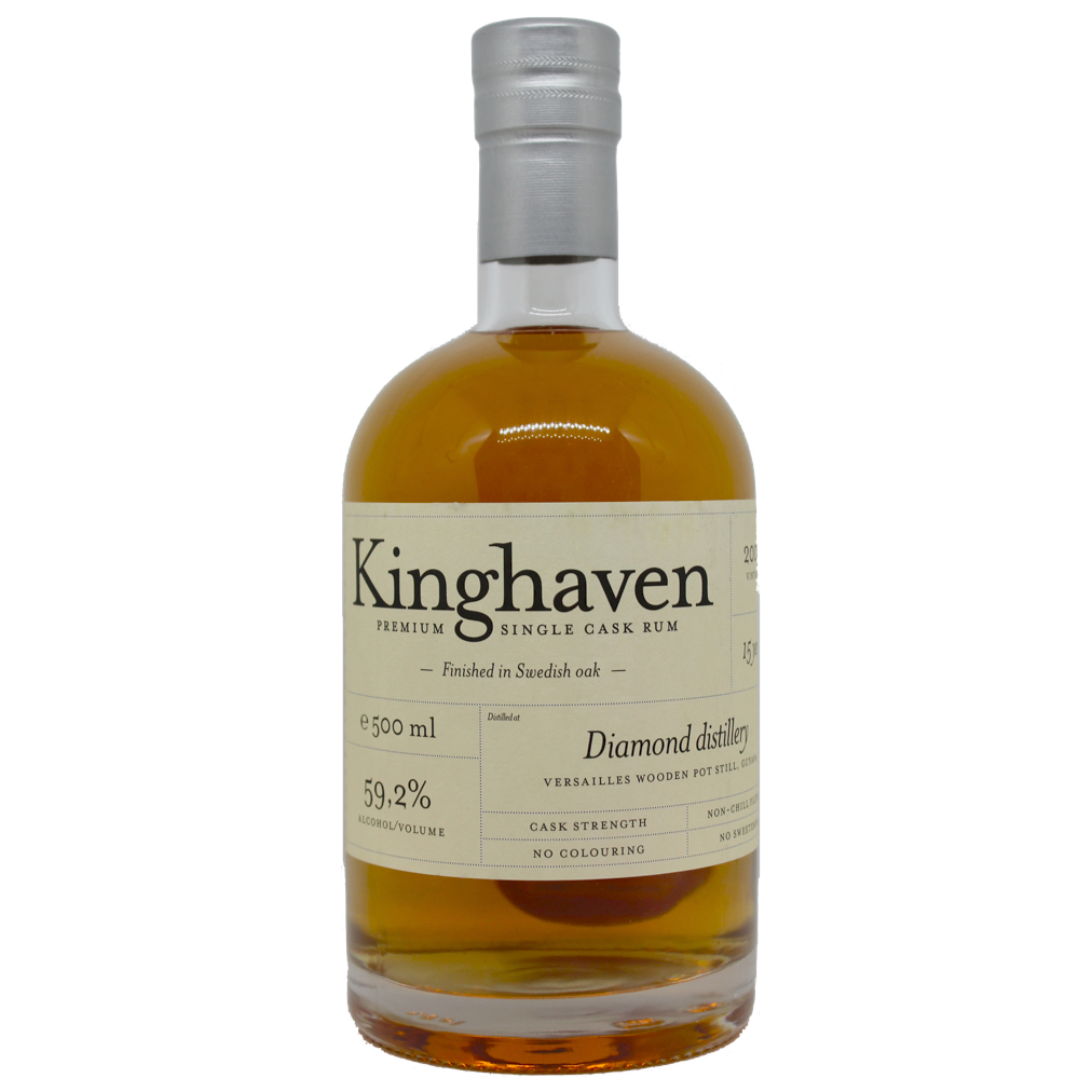 Kinghaven Diamond Distillery, Versailles Still, 15 Years Old Single Cask Rum 59.2% / 500ml