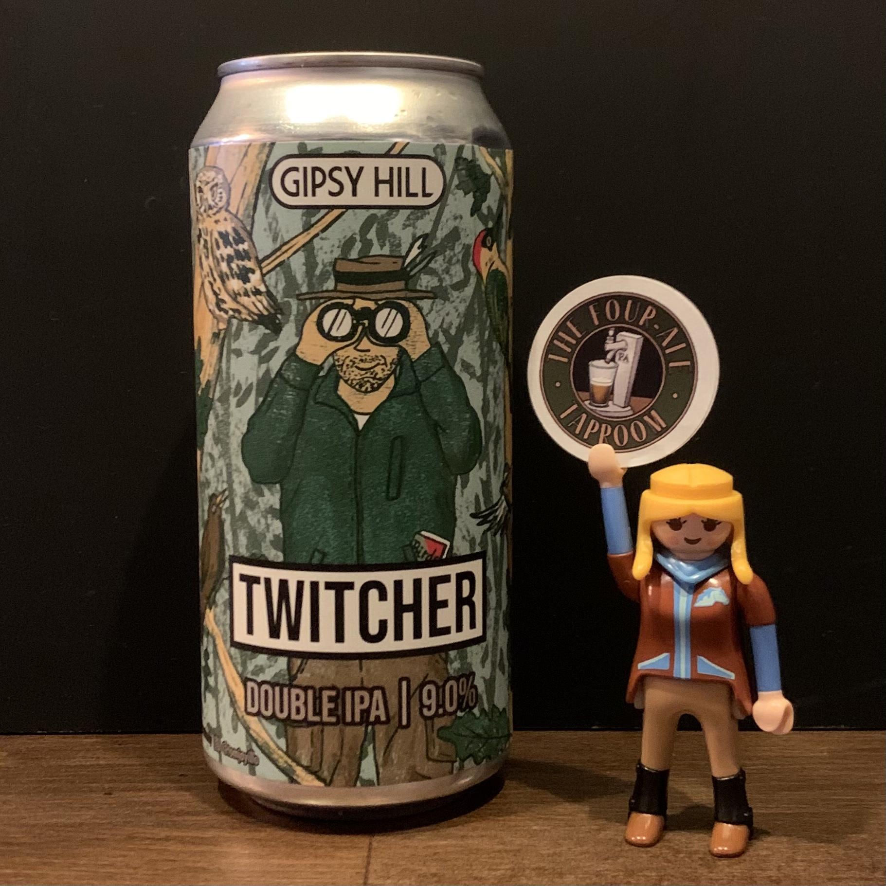 Gipsy Hill - Twitcher - DIPA - 9%