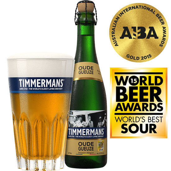 Timmermans Oude Gueuze - Lambic - 5.5%