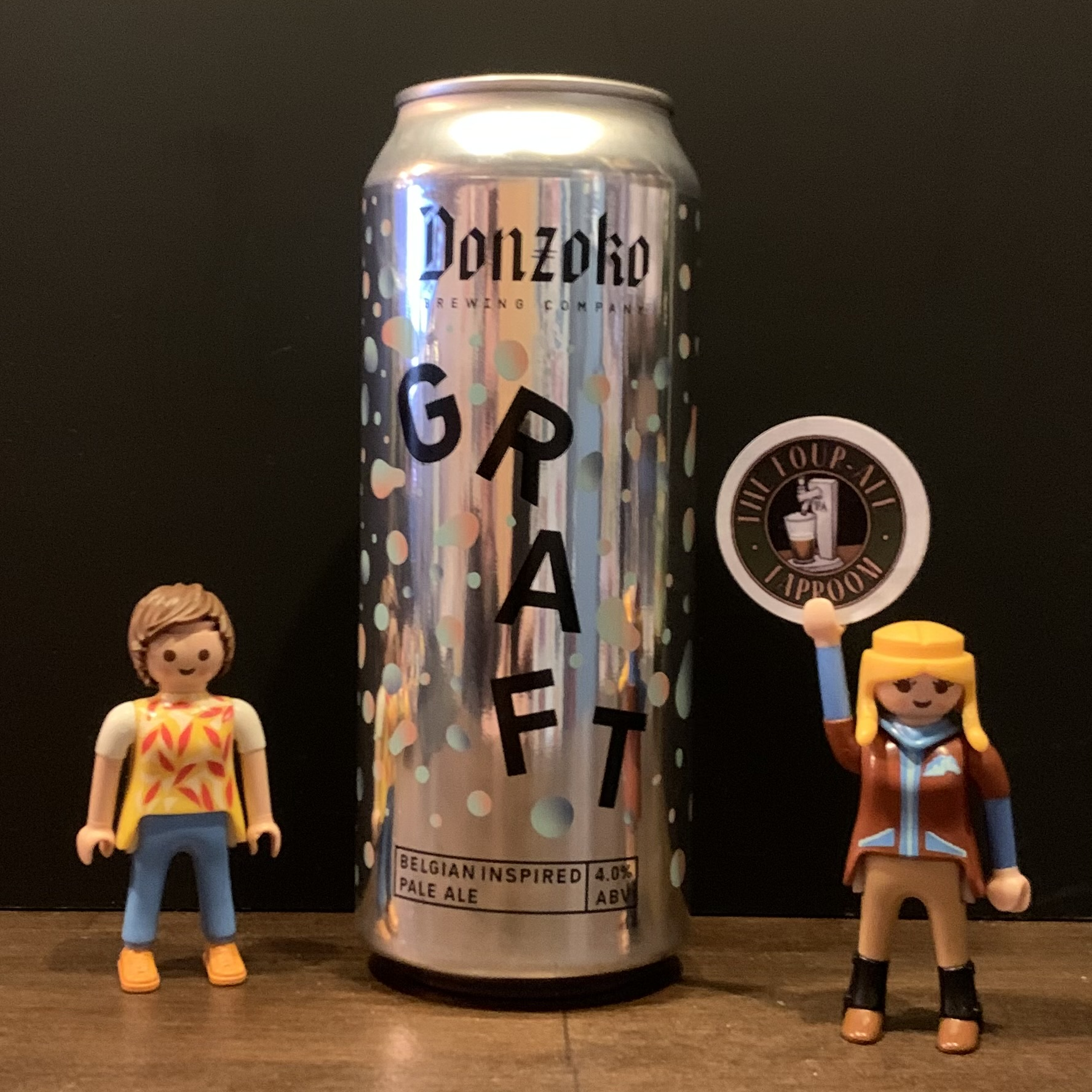 Donzoko Brewing - Graft - Pale Ale - 4%