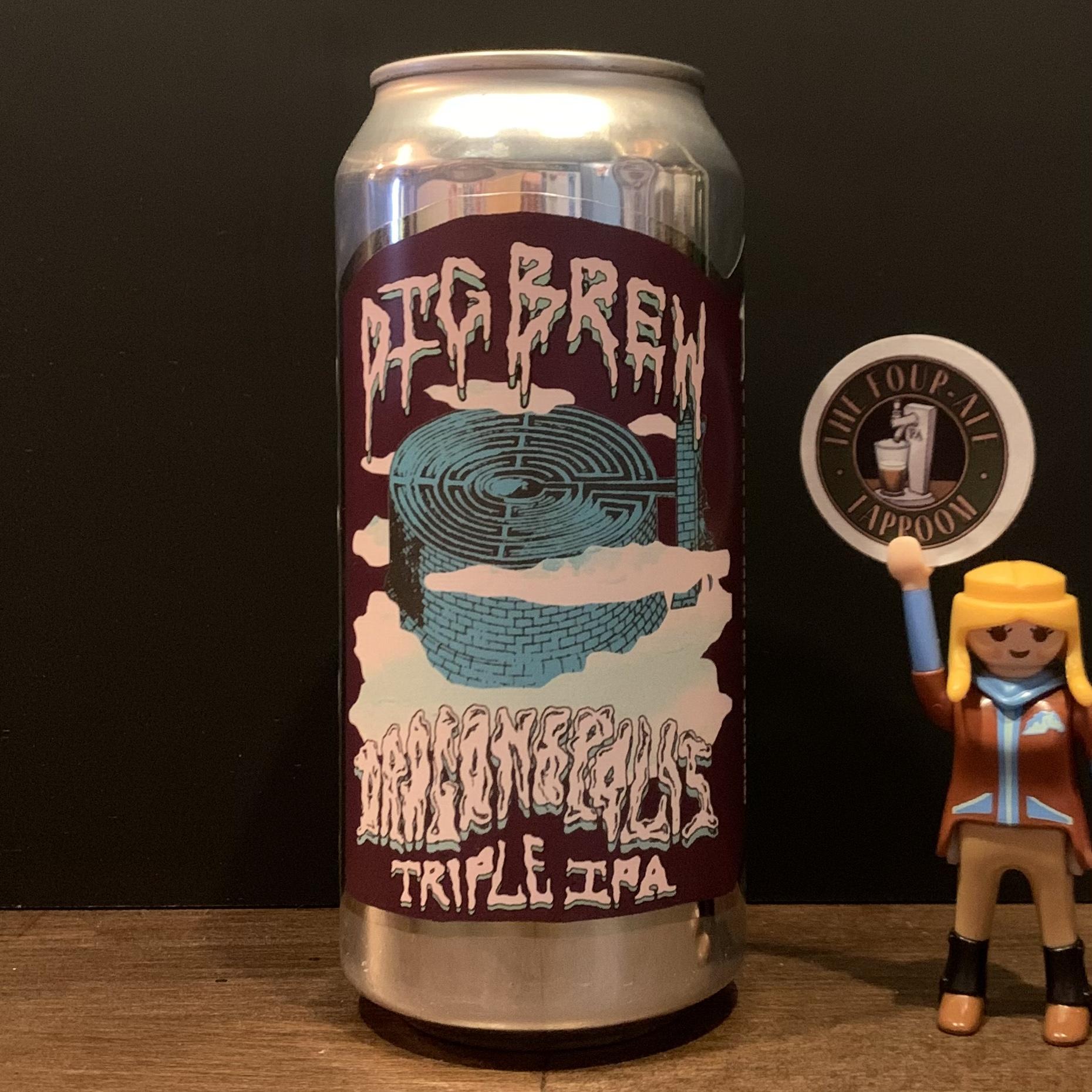 Dig Brew - Dragonopolis - Triple IPA - 10%