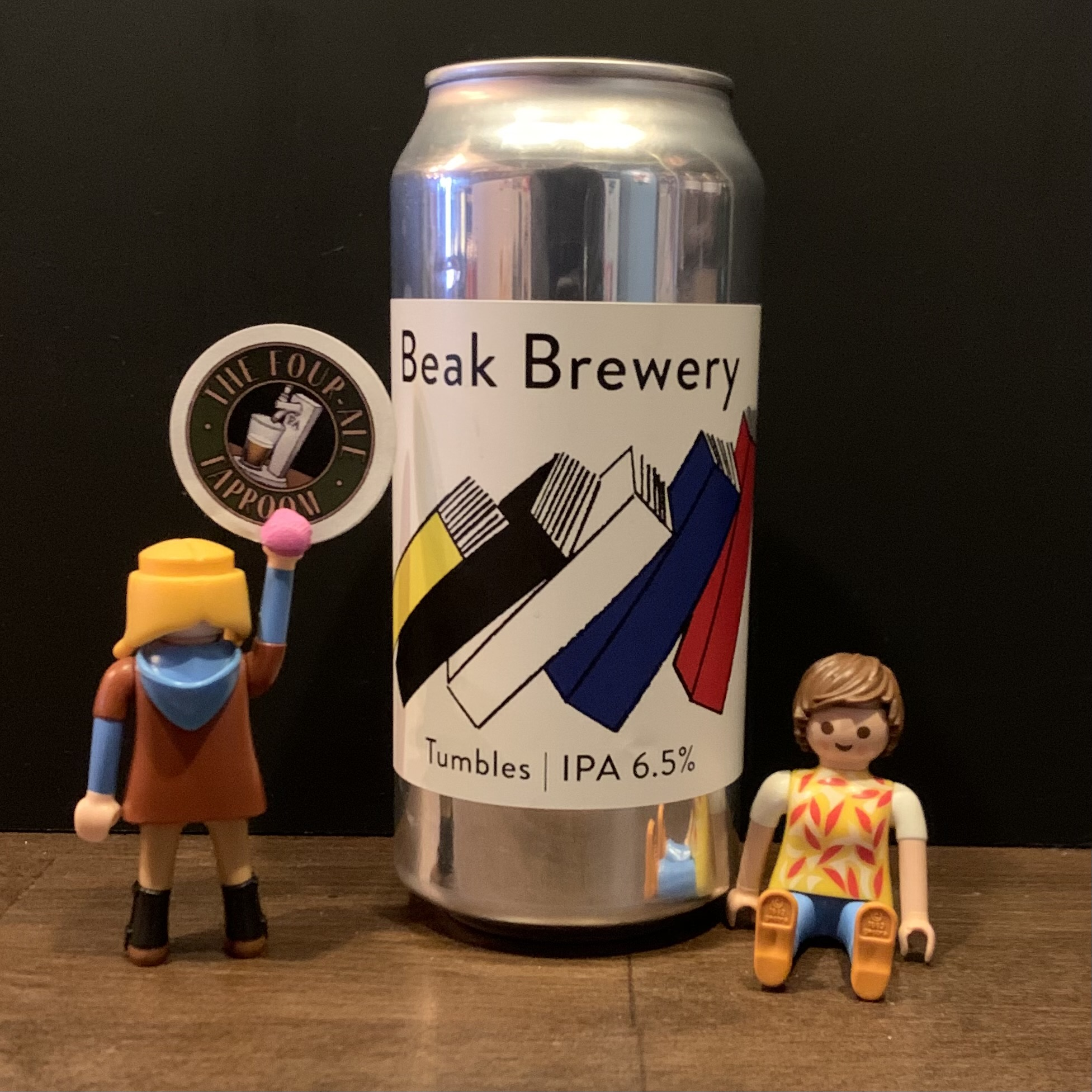 Beak Brewery - Tumbles IPA - New England - 6.5%