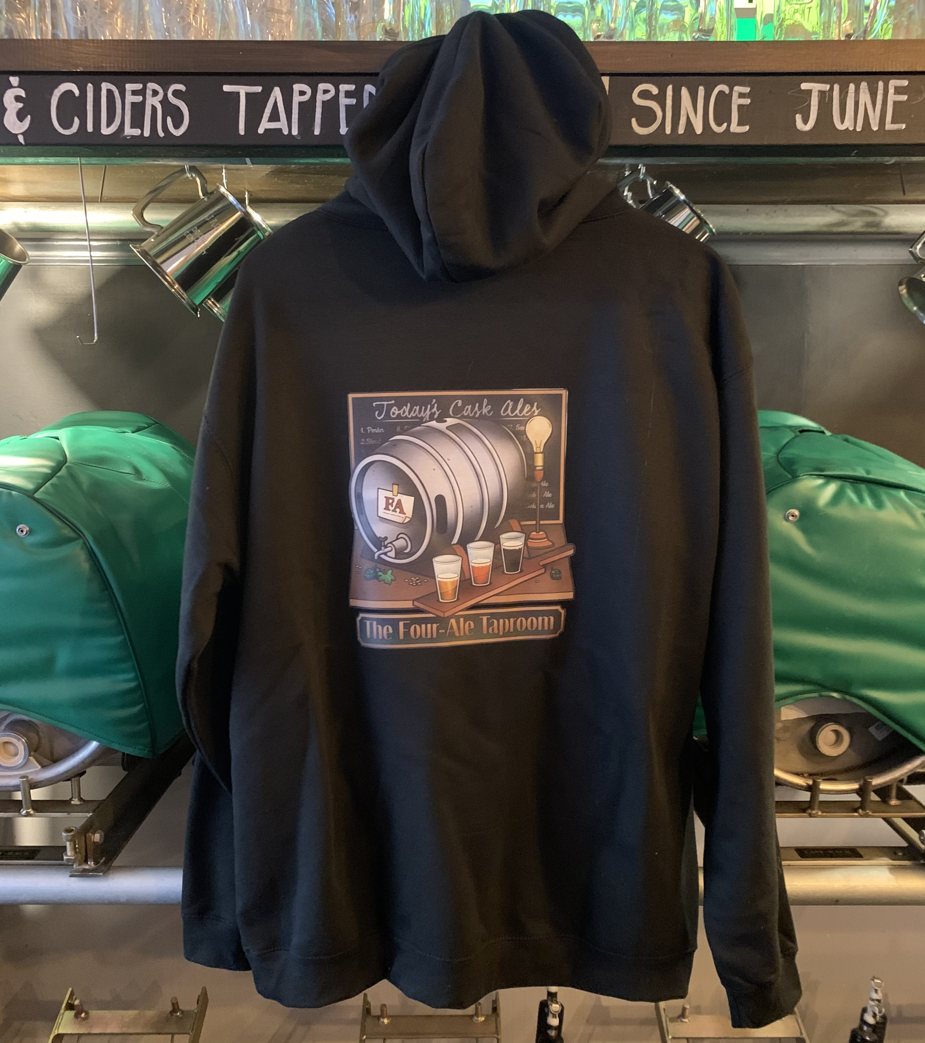 The Four-Ale Hoodie