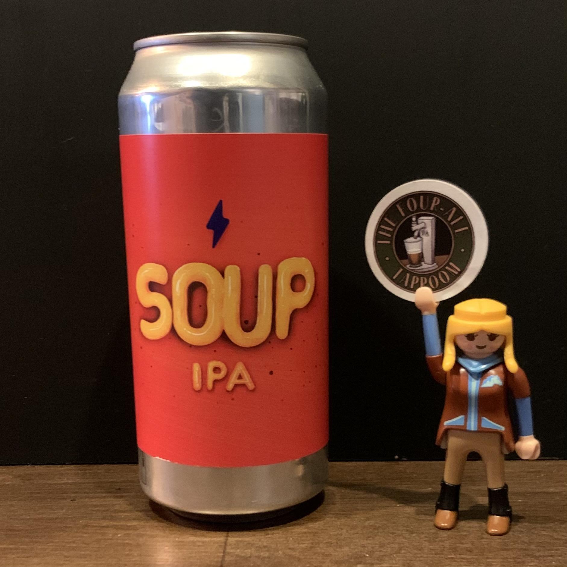 Garage Beer Co. - Soup IPA - New England - 6%