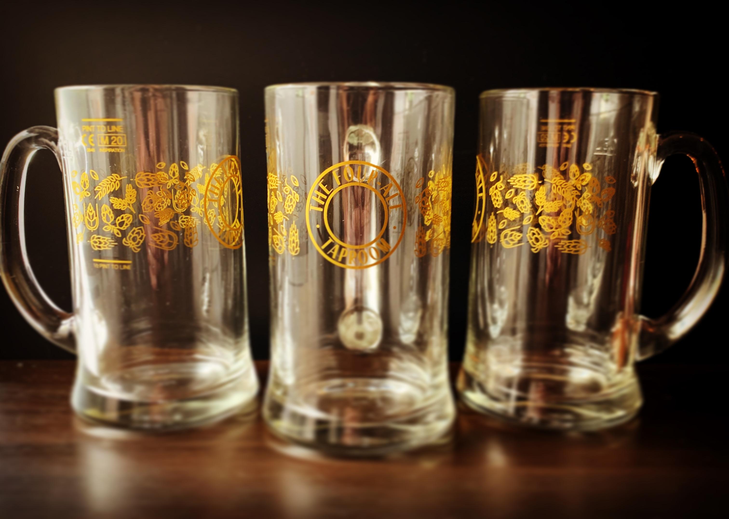 The Four-Ale Glass - Pint Jug