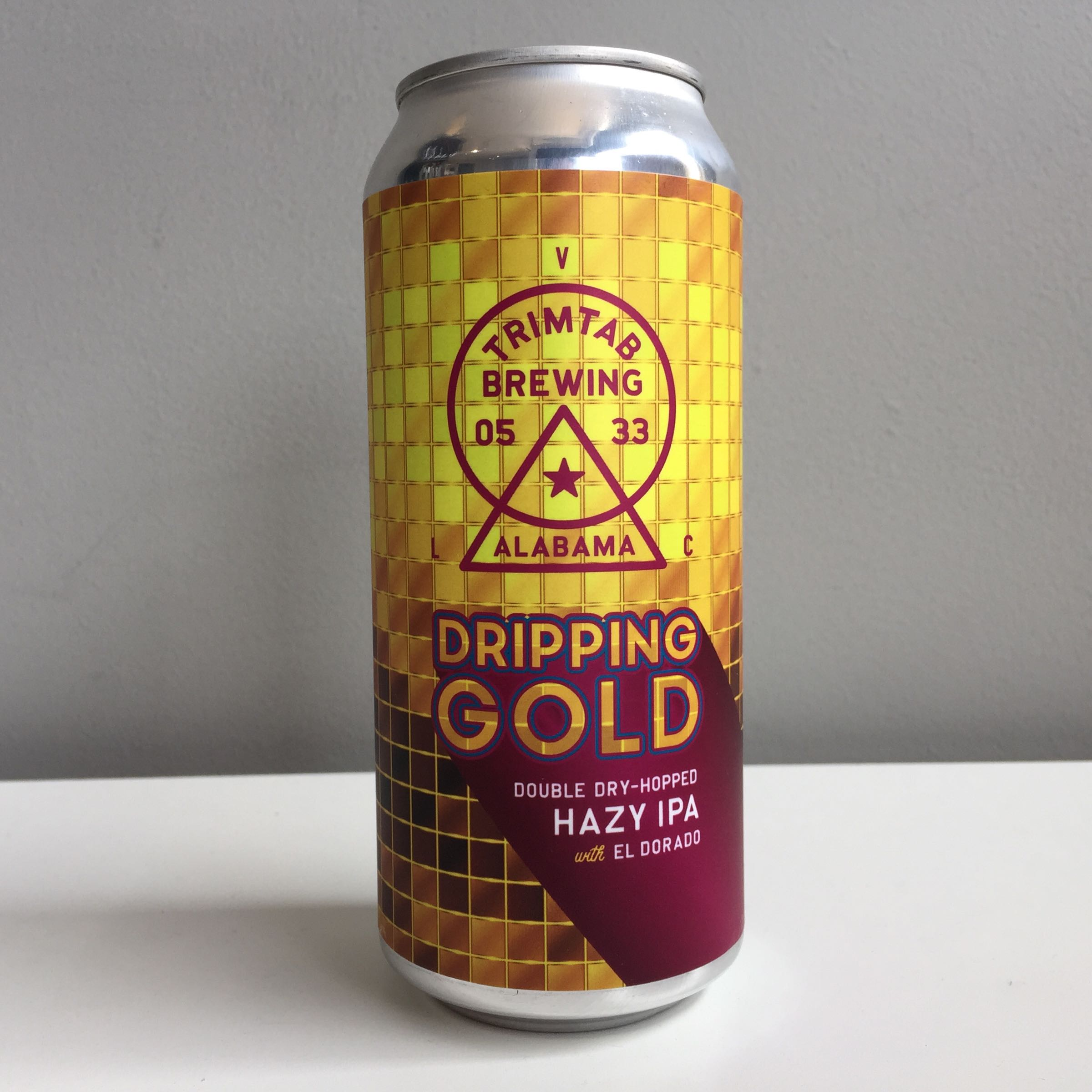 Trimtab Brewing 'Dripping Gold' Hazy IPA 440ml 7% ABV