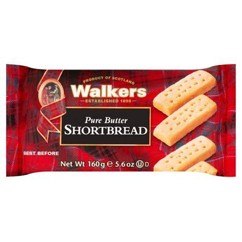 WALKERS SHORTBREAD FINGERS 160G