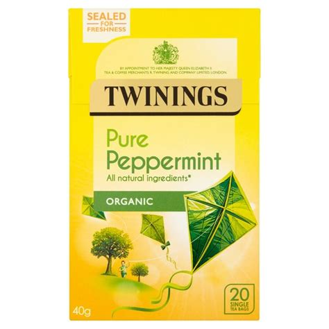 TWININGS INFUSIONS HERBAL PEPPERMINT 20S