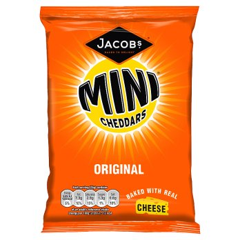 JACOBS MINI CHEDDARS ORIGINAL 50G