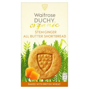 DUCHY GINGER STEAM SHORTBREAD 150G