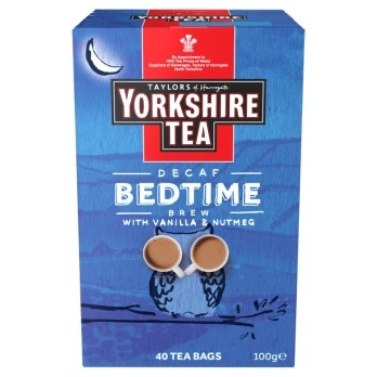 TAYLORS YORKSHIRE BEDTIME BREW 40 TEA BAGS